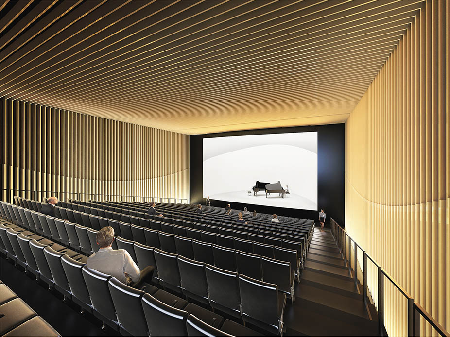 12 wizualizacja sali widowiskowej